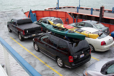 car and truck ferry transport to kelleys island